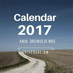 Calendarul personalizat al Energiilor Lunare din 2017